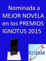 Logo nominada Premios Ignotus